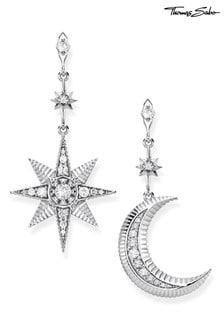 Thomas Sabo Kingdom of Dreams Star  Moon Earrings