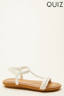 Quiz Comfort T Bar Sandal