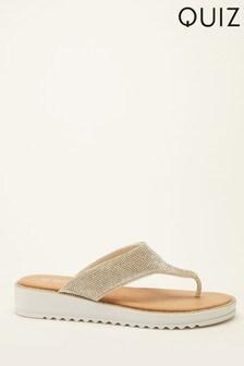 Quiz Comfort Diamate Toe Sandal