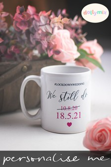 Personalised Quarantine Wedding Mug by Dollymix