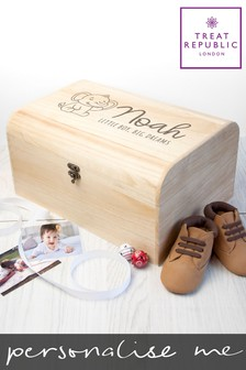 Personalised Keepsake Chest by Treat Republic