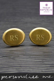 Personalised Cufflinks by Treat Republic