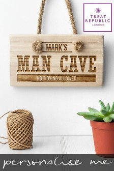 Personalised Wooden Hanging Sign by Treat Republic