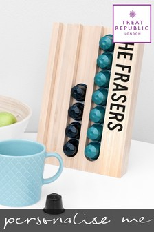 Personalised Coffee Pod Holder by Treat Republic