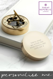 Personalised Compass by Treat Republic