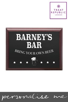 Personalised Plaque by Treat Republic