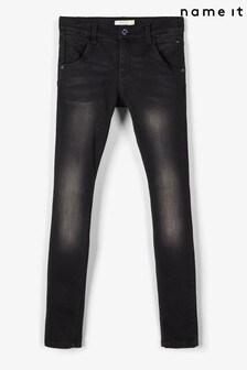 Name It Adjustable Waist Super Stretch Slim Leg Jeans