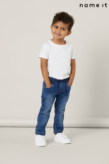 Name It Slim Jeans With Stretch Jogger Waistband