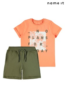 Name It Summer Shorts And T-Shirt Pack