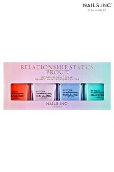 NAILS INC Relationship Status Proud Quad (Worth £44)