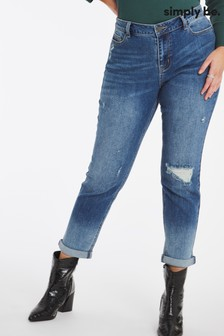 Simply Be Fern Boyfriend Jeans