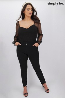Simply Be Shape Sculpt Straight Leg Jeans