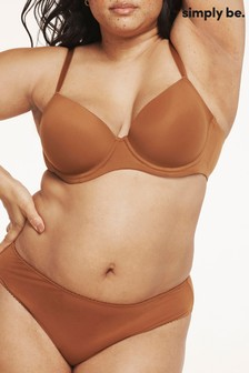 Simply Be Feather Touch Barely There High Leg Brief