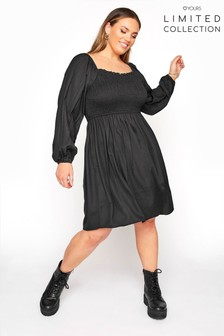 Yours Limited Shirred Smock Dress