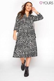Yours Animal Print Midi Dress