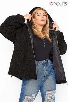 Yours Teddy Hooded Jacket
