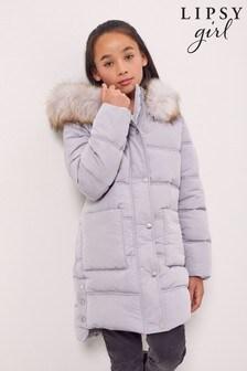 Lipsy Longline Padded Duvet Coat