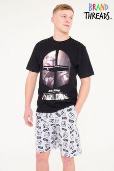 Brand Threads Mens Mandalorian Short Pyjamas