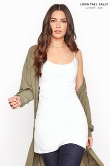 Long Tall Sally Cotton Longline Cami Vest Top