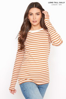 Long Tall Sally Stripe Long Sleeve Top