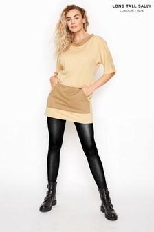 Long Tall Sally Contrast Tunic Sweatshirt