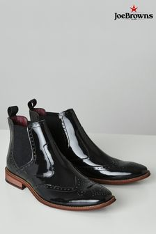 Joe Browns Ultimate High Shine Leather Chelsea Boots