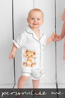 Personalised Childrens Short PJ's by Penelope May