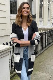 Lipsy Stripe Colourblock Knitted Cardigan