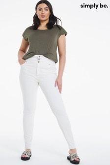Simply Be Super High Waist Skinny Jean