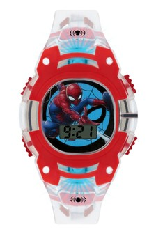 Marvel Spiderman Kids Plastic Strap Spiderman Dial Watch
