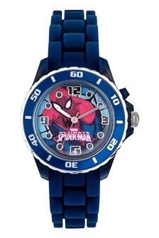 Marvel Spiderman Kids Silicon Strap Spiderman Dial Watch