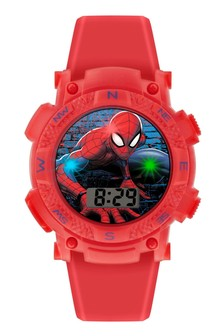 Marvel Spiderman Kids Silicon Strap Dial Watch