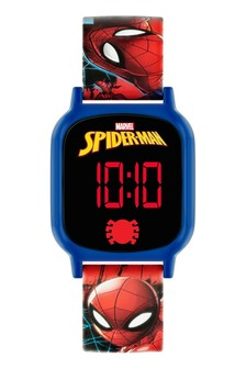 Marvel Spiderman Kids Silicon Strap Touch Screen Watch