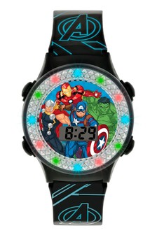 Marvel Avengers Kids Silicon Strap Dial Watch