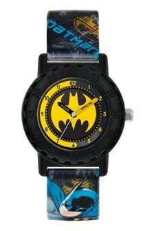 Batman Kids Printed Silicon Strap Dial Watch