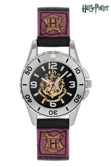 Warner Brothers Harry Potter Kids Fabric Strap Dial Watch