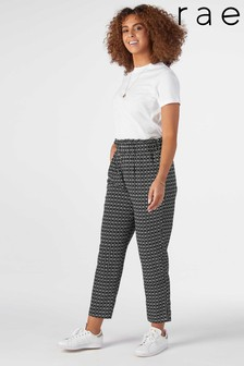 Rae Issy Frill Waist Casual Trouser