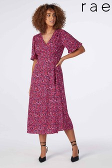Rae Rosie Midi Tiered Tea Dress