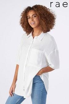 Rae Ellie Drapey Boxy Shirt