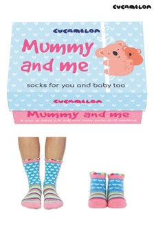 Cucamelon Mummy and Me Pack of 2 Socks