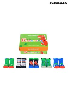 Cucamelon Childrens Pack of 5 Socks