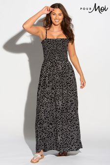 Pour Moi Maxi Dress with Removable Straps
