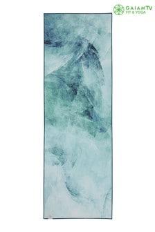 Gaiam 5mm Hot Yoga Mat Toweled