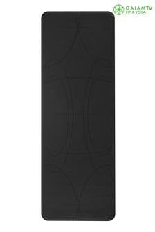 Gaiam 5MM Yoga Mat Performance Alignment Grip