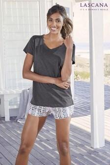 Lascana Plain Pyjama T-shirt
