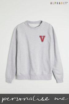 Personalised Monogrammed Sweatshirt by Alphabet