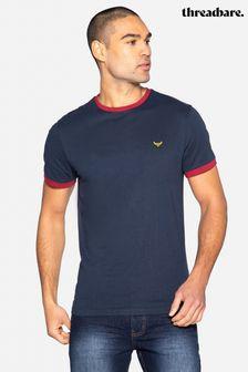 Threadbare Christopher Crew Neck Cotton T Shirt
