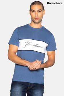 Threadbare Harvie Chest Stripe T Shirt