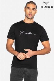 Threadbare Large Script Cotton T Shirt