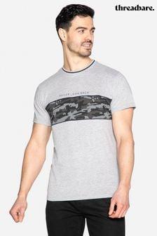 Threadbare Callahan Camo Stripe T Shirt